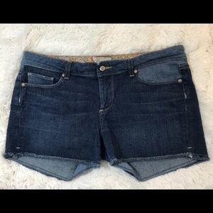 Paige Silver Lake Denim Jean Shorts Sz. 32